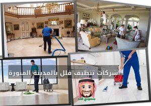 شركات تنظيف فلل بالمدينة المنورة