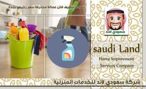 شركة تنظيف فلل عمالة عربية وفلبنية داخل جدة