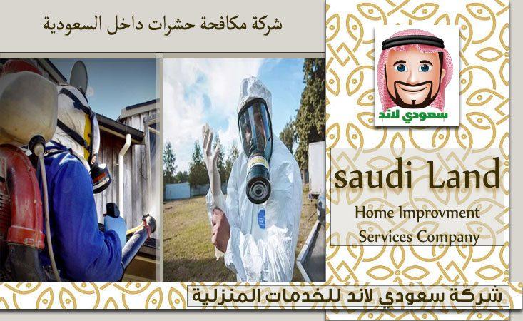 شركة مكافحة حشرات داخل السعودية